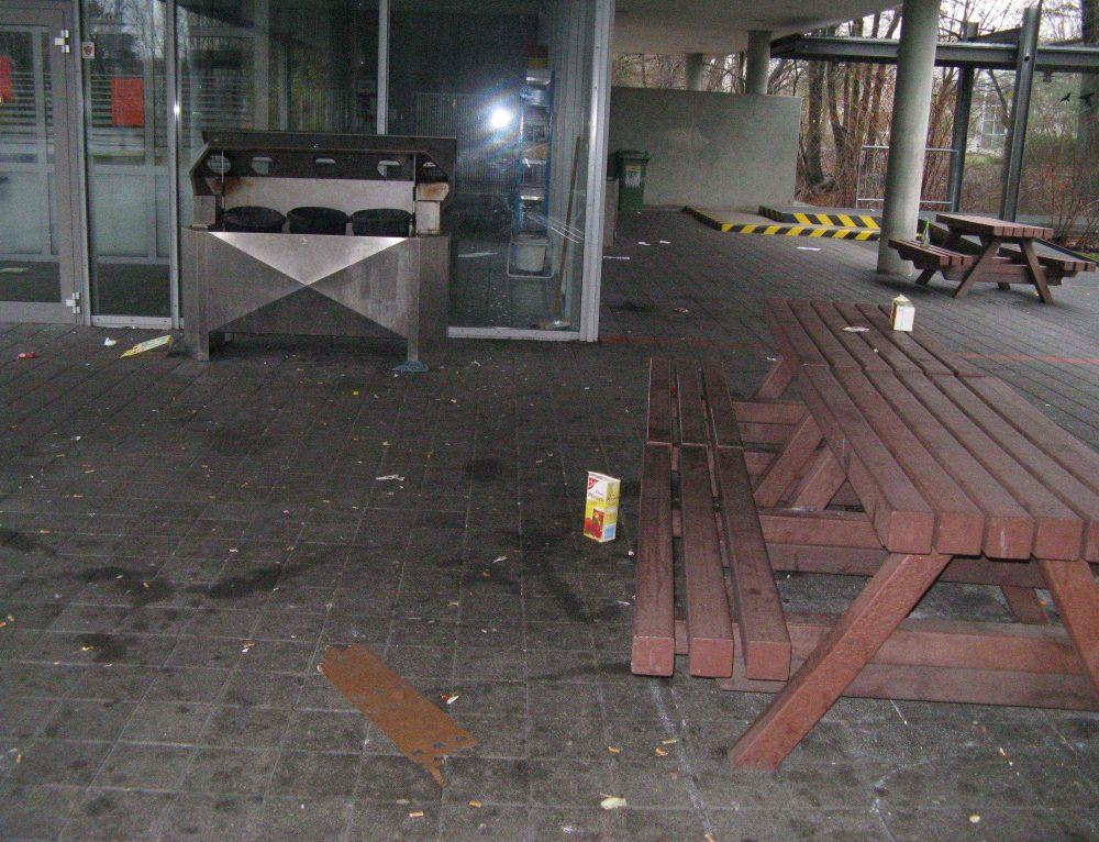 115.000 € – Nachtrag: Wieder hohe Kosten am Gymnasium Löhne durch Vandalismus und Brandstiftung