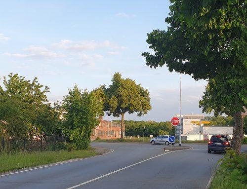 LBA dafür: Demnächst ein Kreisel an der Kreuzung Werster Straße / Bergkirchener Straße