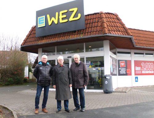 """""""WEZ soll als Vollsortimenter in Melbergen erweitern!""""  –  LBA will Lebensmittelversorgung in Gohfeld verbessern"""
