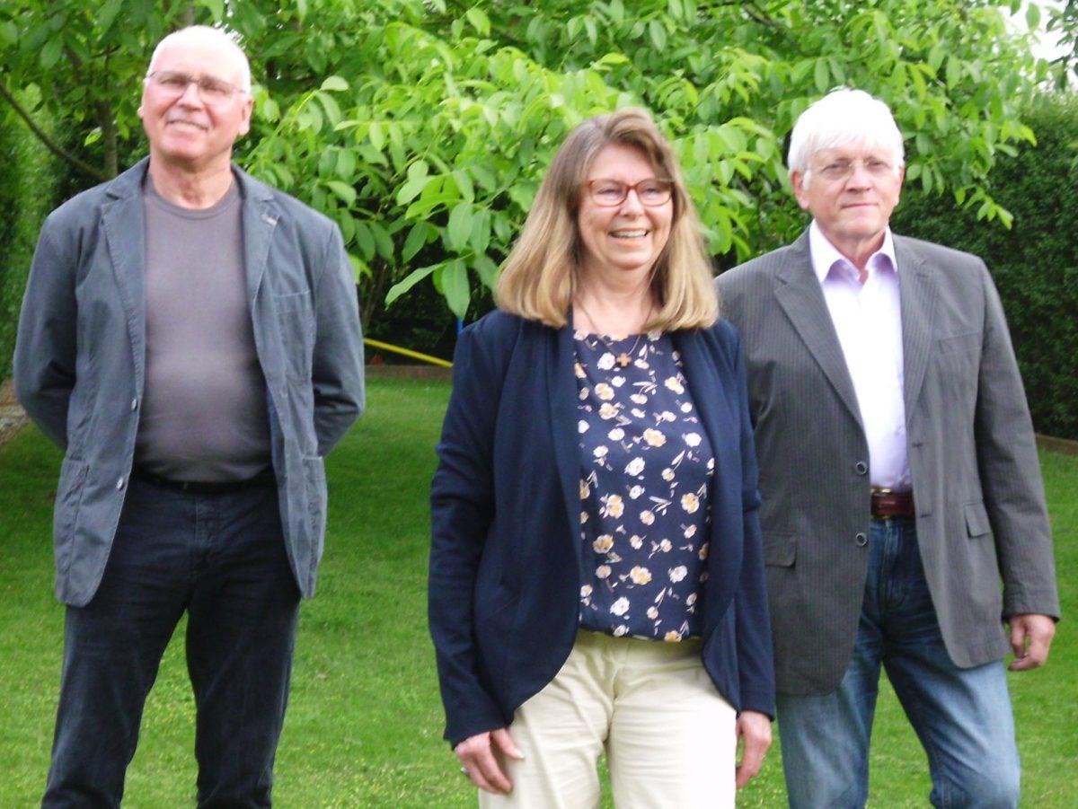 Der neue geschäftsführende LBA-Vorstand (von links): Günter Schlüter, Liz Barnacott, Dr. Hermann Ottensmeier