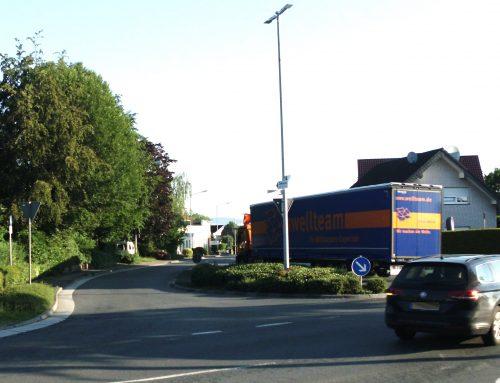 """""""Endlich Nägel mit Köppen"""":   Nicht länger LKW-Durchgangsverkehr auf der Gohfelder Weihestraße  / LBA – Ratsantrag will Gohfelder Bürger schützen"""