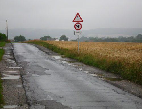 Straßenzustand in Löhne: Theorie und Praxis